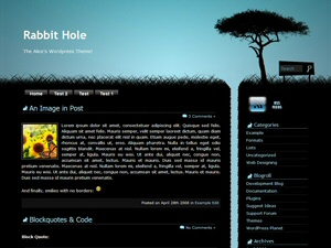 Rabbit Hole Theme