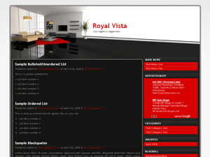 RoyalVista Theme
