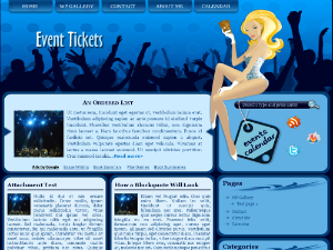 Event Tickets Theme