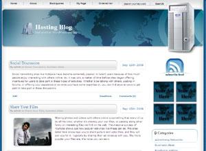 HostingBlog Theme