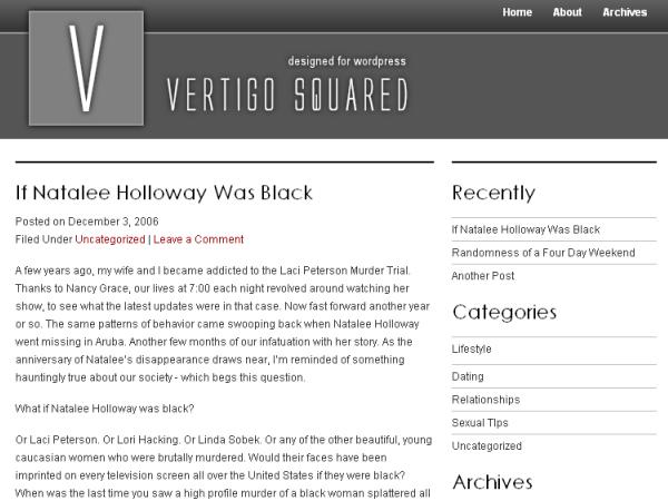 Vertigo Squared Theme